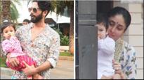 See pics: Kareena Kapoor Khan's little munchkin Taimur and Shahid Kapoor's darling daughter Misha enjoy the festivities
