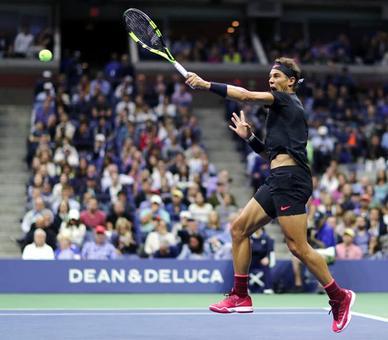 PHOTOS: Awe-inspiring Nadal battles back to tame Del Potro for US Open final spot
