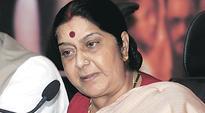 Sushma Swaraj speaks to Rajnath, LG Jung after attacks
