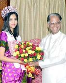 CM fetes Priyadarshini