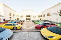 Lamborghini Club in UAE rolled out