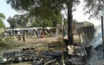 Images show Nigeria refugee camp hit multiple times: Group