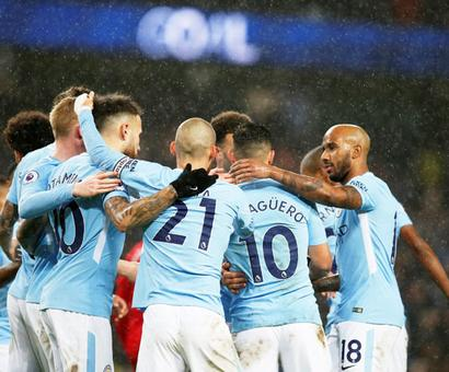 EPL PHOTOS: City back to winning ways, Spurs win at Swansea