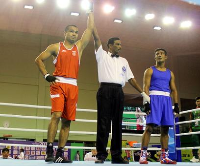 SAG: Boxers join shooters, India's medal tally soar higher