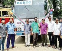 KSRTC bus, the social media star, back to service