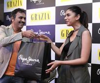 Actress Aditi Rao Hydari unveils GRAZIA's latest issue at Pepe Jeans Store