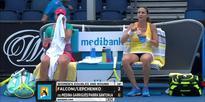 Falconi/Lepchenko v Medina Garrigues/Parra Santonja highlights (2R) | Australian Open 2016