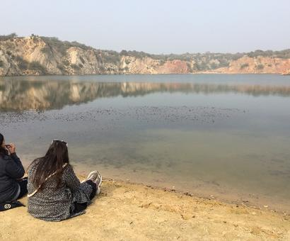 Delhi's hidden lakes off the tourist trails