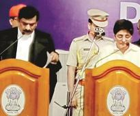 Kiran Bedi assumes charge as Pondy LG