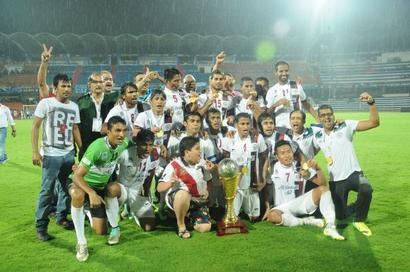 'The president and his entourage should play the I-League now'