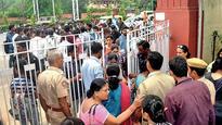 Students denied admission despite names in list