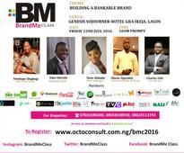 Tosin Ajibade, Temitope Olagbagi, Dipo Adesida, more to speak at BrandMe Class 2016