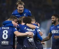 Italian Cup: Felip Anderson scores first goal since return from injury to help Lazio cruise into quarters