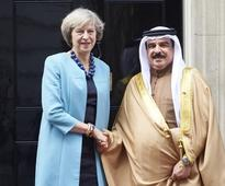 May downplays Bahrain human rights fears ahead of Gulf summit