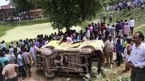 Principal held for Bhadohi train-van crash