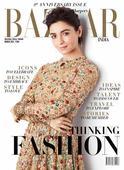 Alia Bhatt on the cover of Harper`s Bazaar India