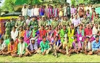 In Chhattisgarh, 70 Maoists give up arms