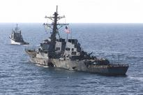 Army Navy issues warning to US destroyer