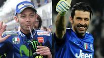 Italian MotoGP legend Valentino Rossi slams pressure on himself, compatriot Gianluigi Buffon to retire