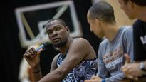 The calm before the storm in the summer of Kevin Durant
