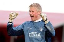 Falkirk targeted England keeper Joe Hart but had to settle for Premier League winner Kasper Schmeichel
