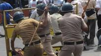 Tamil Nadu: Woman slapped by policeman during anti-liquor protest