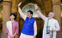 Shinzo Abe in Gujarat Day 1: Narendra Modi, Japanese PM hold roadshow, visit Sabarmati Ashram