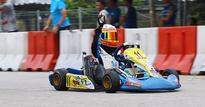 Shahan Ali Mohsin wins in Asia Max Karting Championship