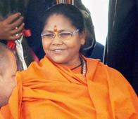 Bad condition of farmers a legacy of UPA: Sadhvi Niranjan Jyoti