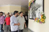SRFTI pays floral tribute to Satyajit Ray on his 96th birth anniv...