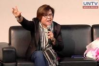 De Lima urges women to stand up for rights, condemn sexist remarks