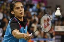 Saina Nehwal beats Dinar Dyah Ayustine 17-21, 21-18 and 21-12, makes it to the quarter-final of Macau Open