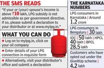 Oil cos struggle to make LPG consumers give up subsidy