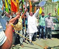 Dogra Front protests against death penalty to Jadhav