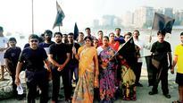 Koli community holds protest at Badhwar Park
