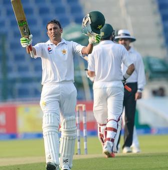 Younus returns with century as Pakistan dominate West Indies