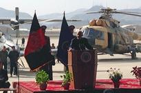 Afghan president pledges to secure peace through talks or war