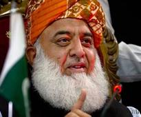 Fazl toes PTI line on  CPEC route change