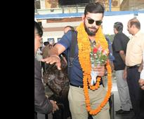 PHOTOS: India, New Zealand squads arrive in Visakhapatnam for 5th ODI
