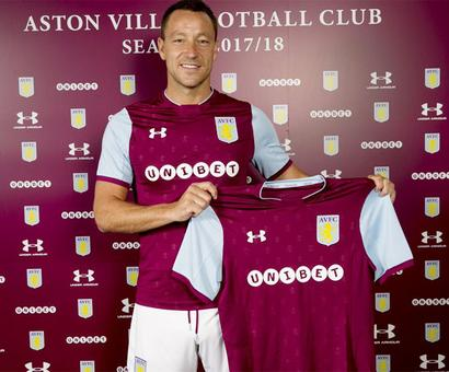 Former Chelsea captain Terry joins Championship side Aston Villa