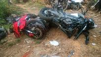 One dead, two hurt while performing stunts on bikes