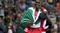 Kenya's Rudisha retains 800m title