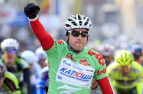 Kristoff sprints to victory, Frank still...