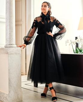 Style diaries: You'll want to steal Sonam's all black look