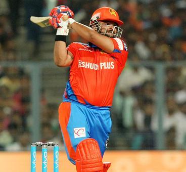 IPL PHOTOS: Raina leads Gujarat Lions to impressive win over Knight Riders