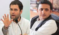 Congress workers protest against alliance with SP in UP polls