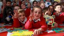 St Teresa's School pupils celebrate Schools' Peace Week