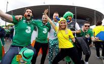 Paris to honour Ireland's two sets of 'wonderful' fans
