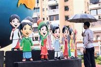 Art pop up in Bandra