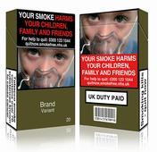 Plain cigarette packages come into effect UK, France